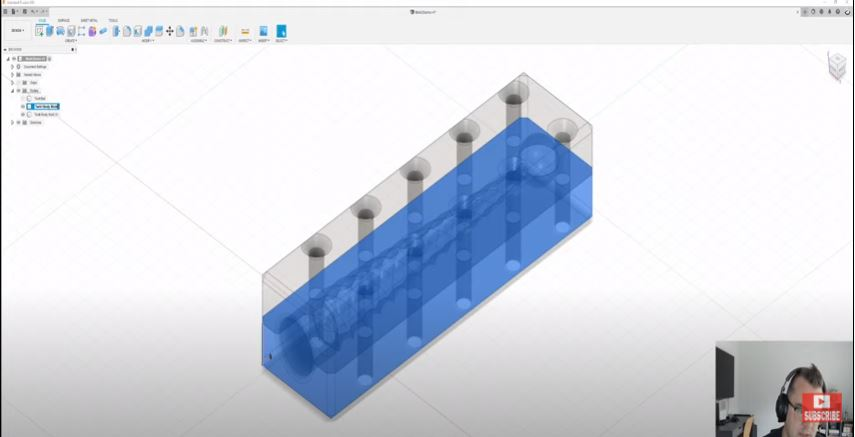 splitting the mold in Fusion 360